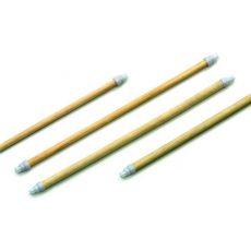 Holzsitzstangen 4 Stück, a 35 cm, 2 x 10mm, 2 x 12mm