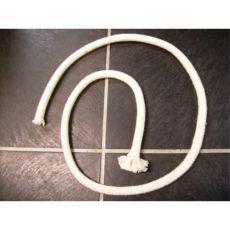 Baumwollseil 14mm ungefärbt geflochten 1 Meter