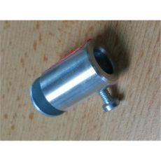 Sitzstangenhalter aus Aluminium Bohrung: 10,5 mm