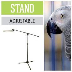 Ständer für Arcadia D3 UV Flutlicht für Vogelvolieren