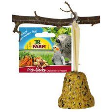 JR Birds Pick-Glocke Großsittich & Papagei 160 g