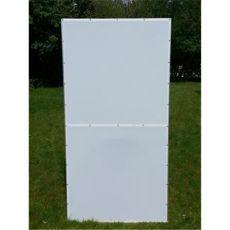 Bodenplatte für Aluminium-Voliere 2x1 Meter