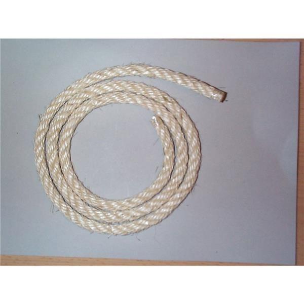 Sisalseil ungefärbt 200 cm 8 mm