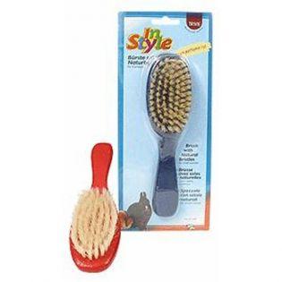\In Style\ Bürste m. Naturborsten für Kleintiere