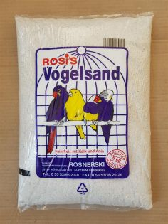 Rosis Vogelsand weiss 25 kg
