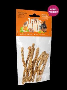Little One Yummy Zweige mit Pastinake und Kürbis. Snack für alle kleinen Säugetiere, 35 g