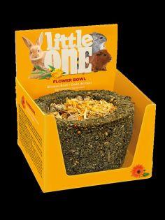 Little One Blumenkorb. Spielzeugleckerli für alle kleinen Säugetiere, 140 g