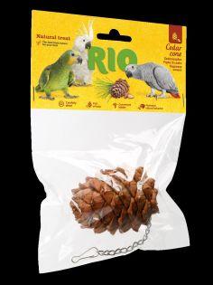 RIO Zedernzapfen. Naturleckerli für Vögel, 1 Stück