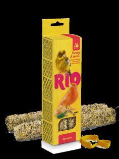 RIO Sticks für Kanarien mit Honig und gesunden Saaten, 2x40 g