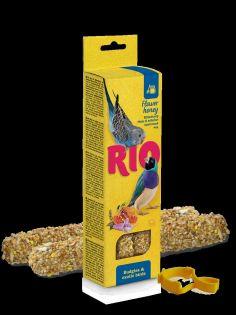 RIO Sticks für Wellensittiche und exotische Vögel mit Honig, 2x40 g