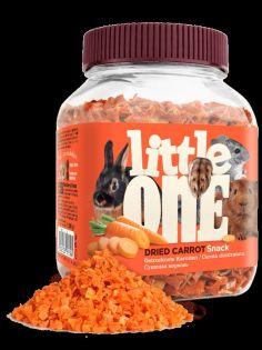 Little One Getrocknete Karotte. Snack für alle kleinen Säugetiere, 200 g