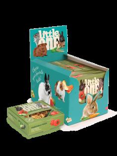 Little One Gemüsepizza. Spielzeugleckerli für alle kleinen Säugetiere, 55 g