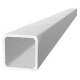 Aluminium-Vierkantrohr 1 Meter