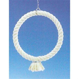 Cage Toy, Kletterring aus Baumwolle groß; 34 cm