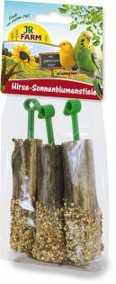 JR Birds Hirse-Sonnenblumenstiele 20 g