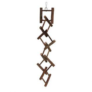 Trixie Hängeleiter, Naturholz, 12 Sprossen 58 cm