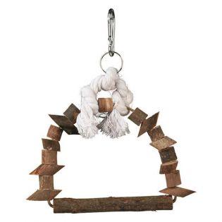 Trixie Bogenschaukel, Naturholz 15 x 20 cm