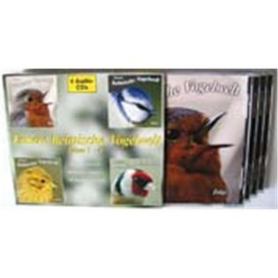 CD Unsere heimische Vogelwelt - 4 CDs