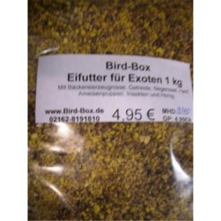 Bird-Box Eifutter für Exoten Inhalt 1 kg
