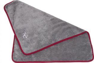 Kuschel- & Trocknungsdecke Ruby 60x45 grau
