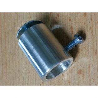 Sitzstangenhalter aus Aluminium Bohrung: 20,5 mm