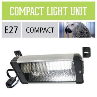 Arcadia Kompaktleuchte mit Reflektor E27 für Vögel