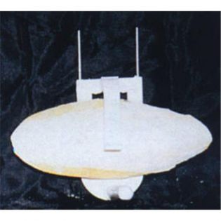 Sepiahalter mit Kunststoffbügel