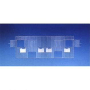 Vorsatzgitter AF, NK 80 x 40 cm