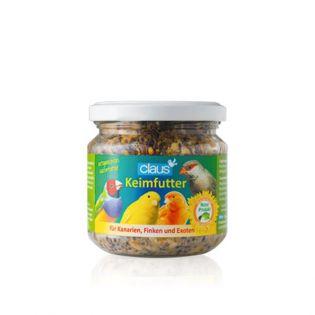Claus Keimfutter für Kanarien und Exoten  210 ml