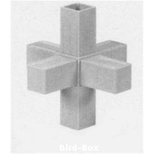 3D6 Stern für 20 x 20 x 1,5