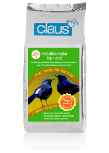 Claus Fett-Alleinfutter II grün 500 g