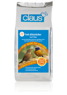 Claus Fett-Alleinfutter IV blau 5000 g