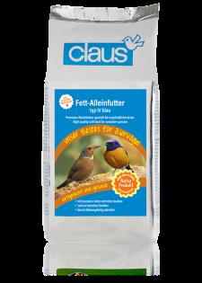 Claus Fett-Alleinfutter IV blau 25 kg