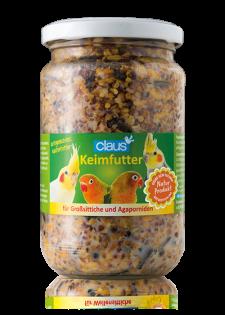 Claus Keimfutter für Großsittiche 210 ml