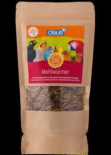 Claus Mehlwürmer Ziervögel 500 g