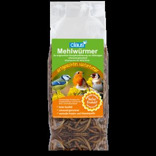 Claus Mehlwürmer Wildvögel 75 g