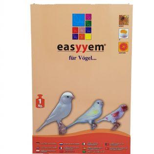easyyem Eifutter für weiße Kanarien Inhalt 1 kg